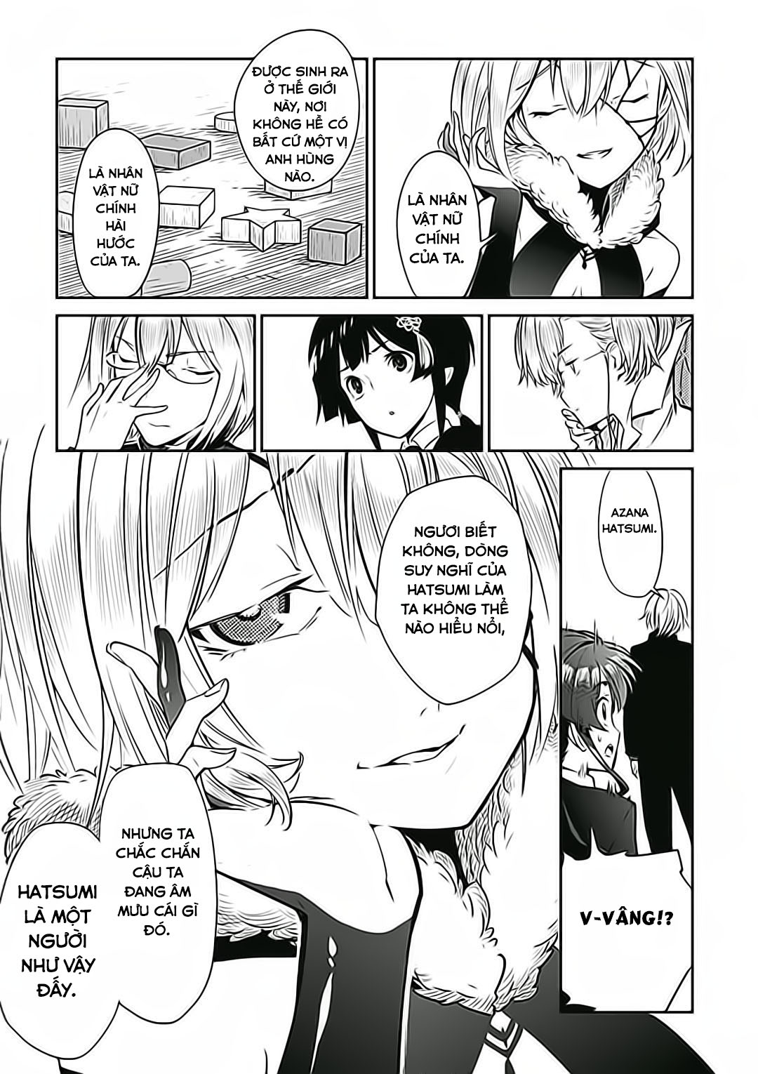 D.y.n. Freaks (All For Manga + Wicked House) Chap 3 Trang 22